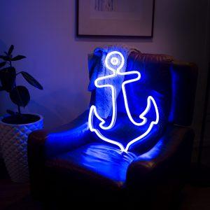 LED sign anchor large